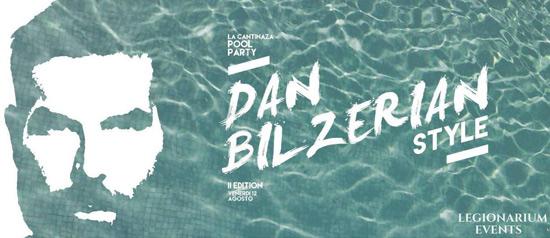 Pool party Dan Bilzerian Style al Ristorante La Cantinaza di Montemaggiore al Metauro
