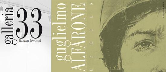 Portraits di Guglielmo Alfarone alla Galleria 33 di Arezzo
