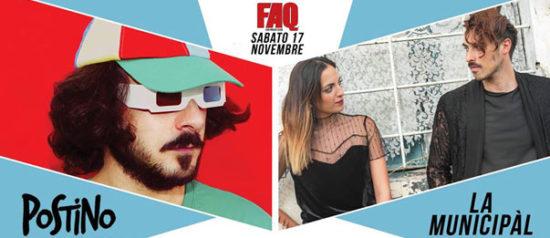 Postino e La Municipàl al Faq Live Music Club a Grosseto