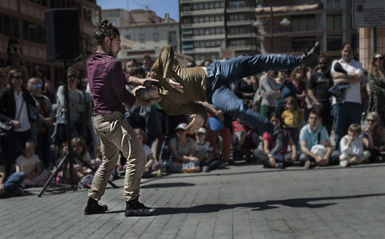 "Physical Momentum Project ""Post Kriptum"" al Mirabilia Festival 2016 a Savigliano"