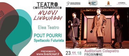 Pout Pourri all'Auditorium Paolo Colapietro a Frosinone