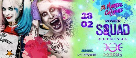 Carnival edition: Power Squad theme al Donoma di Civitanova Marche