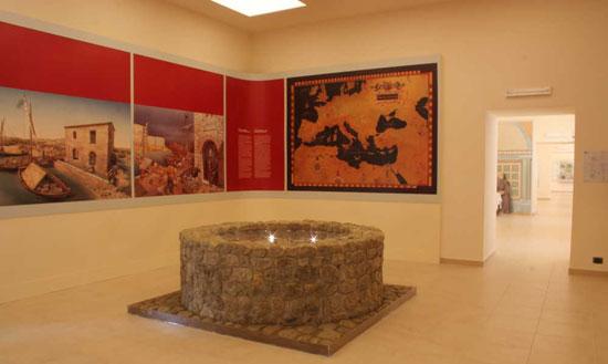 Sala del pozzo dei lavatoi, Museo Montelupo Fiorentino