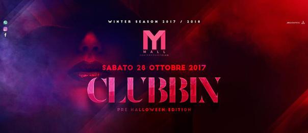 Clubbin' pre Halloween edition al Mall Club di Rescaldina