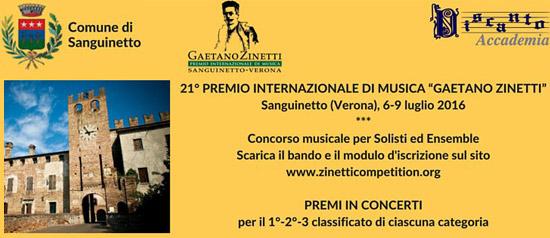 Concerto finale vincitori premio zinetti, Verona