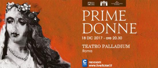 """Veronica Simeoni """"Prime Donne"""" al Teatro Palladium a Roma"""