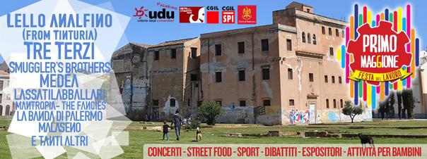 #Primomaggione - Festa del Lavoro a Palermo