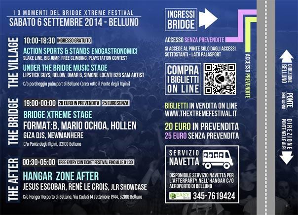 Il programma del Bridge Xtreme Festival 2014