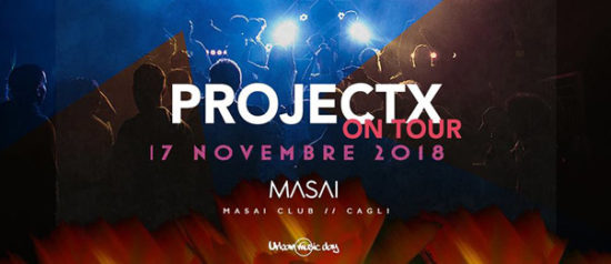 Project X on tour al Masai Club Cagli