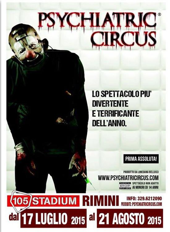 Psychiatric Circus al Coconuts di Rimini