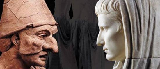 Pulcinella e l'Imperatore all'Anfiteatro di Sutri