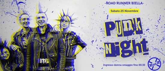 Punk night al Road Runner di Biella