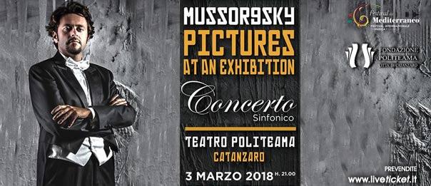 """Orchestra Filarmonica della Calabria """"Quadri di un'esposizione"""" al Politeama Catanzaro"""