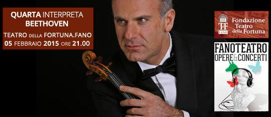 Massimo Quarta interpreta Beethoven al Teatro della Fortuna di Fano