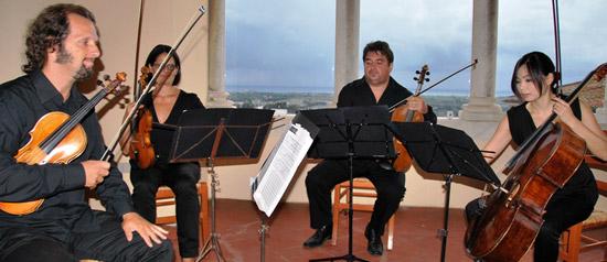 Quartetto Pessoa in concerto al Palazzo Vitelleschi di Tarquinia