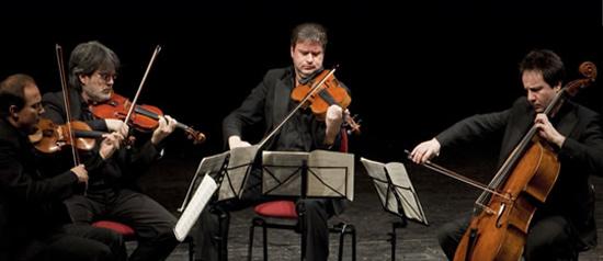 Quartetto del Teatro alla Scala a Villa Pignatelli a Napoli