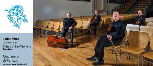 Tre x tre = quattro. Nove passi nella storia del quartetto alla Chiesa di San Teonisto a Treviso