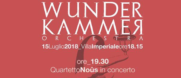 Concerto Quartetto Noûs alla Villa Imperiale a Pesaro