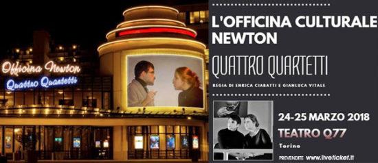 Quattro Quartetti al Q77 di Torino