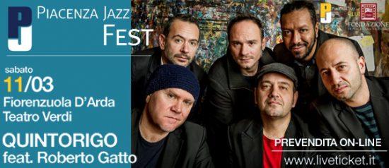 "Quintorigo feat. Roberto Gatto – ""Trilogy"" al Piacenza Jazz Fest 2017"