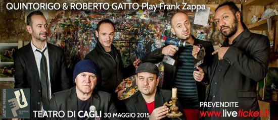 Quintorigo & Roberto Gatto Play Frank Zappa al Teatro Comunale di Cagli