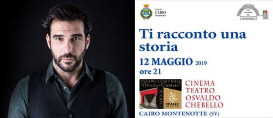 Ti racconto una storia al Teatro Osvaldo Chebello di Cairo Montenotte