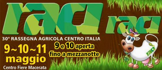 30^ Rassegna Agricola del Centro Italia al Centro Fiere Villa Potenza di Macerata