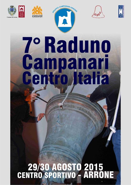 7 Raduno Campanari ad Arrone