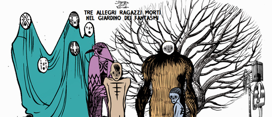 """""""Tre allegri ragazzi morti"""" live all' Etnoblog a Trieste"""