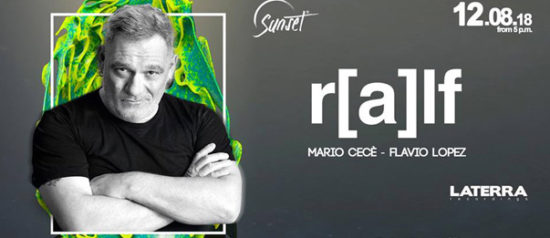 DJ Ralf al Torretta Sea Club a Mazara del Vallo