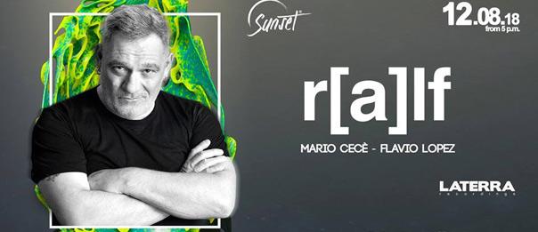 DJ Ralf al Torretta Sea Club a Mazara del Vallo
