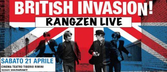 British invasion - Rangzen live al Teatro Tiberio a Rimini