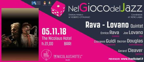 Rava - Lovano quintet al The Nicolaus Hotel a Bari