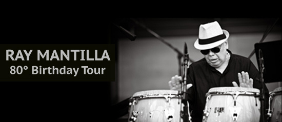 Ray Mantilla 80° Birthday Tour al Piacenza Jazz Fest