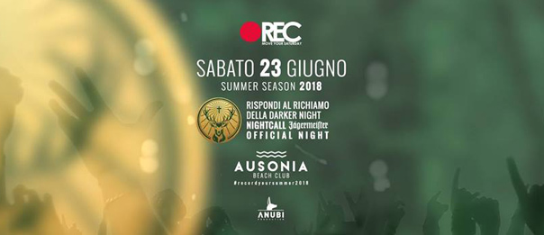 REC Move your saturday - Jägermeister official night all'Ausonia Beach Club di Trieste