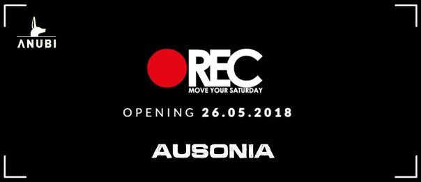 REC Move your saturday - opening party all'Ausonia Beach Club di Trieste