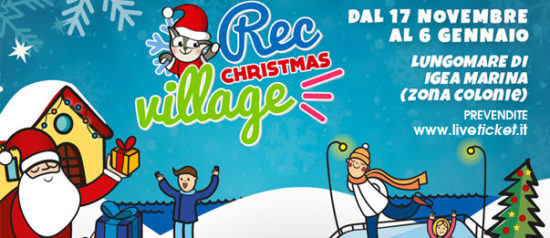 Rec Christmas Village a Bellaria Igea Marina