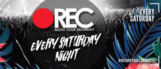 "Rec ""Move your saturday"" every saturday night all'Ausonia Beach Club di Trieste"