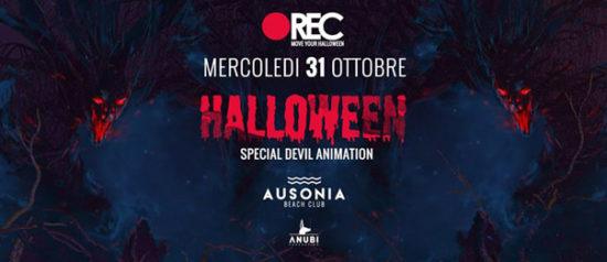 REC Halloween - Closing night all'Ausonia Beach Club di Trieste