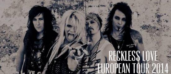 Reckless Love al Rock'n'Roll Arena di Romagnano Sesia