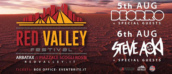 Red Valley Festival a Arbatax