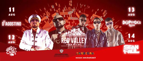 Red Valley Festival 2018 al Piazzale Scogli Rossi a Àrbatax