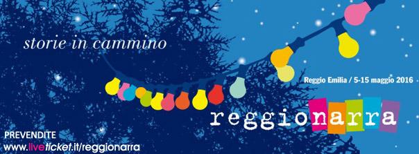 """Reggionarra """"Storie in cammino"""" a Reggio Emilia"""