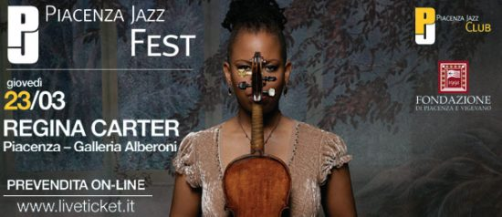 Regina CarRegina Carter al Piacenza Jazz Fest 2017ter al Salone degli Arazzi di Piacenza