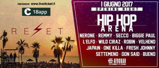Reset Catania 2017 - Hip Hop Arena a Afrobar di Catania
