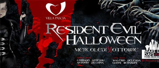 Resident Evil Halloween al Villa Pascià