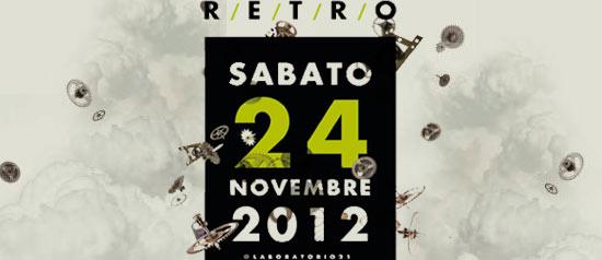 Presentazione R/E/T/R/O al Laboratorio21 a Viareggio