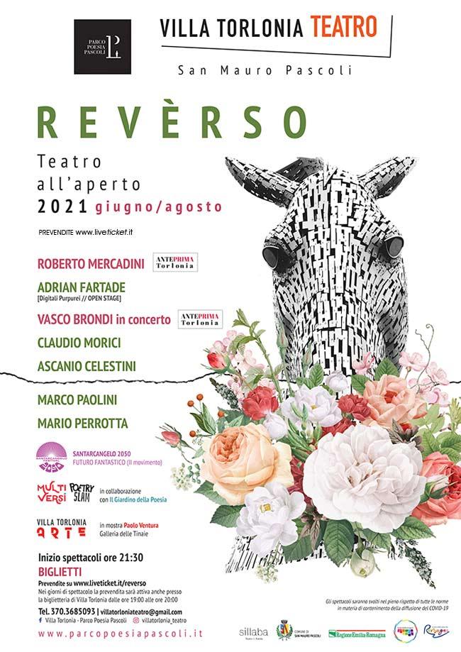 REVERSO - Villa Torlonia Teatro a San Mauro Pascoli