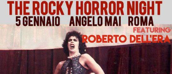 The Rocky Horror Night all'Angelo Mai Roma