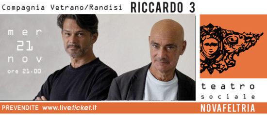 Riccardo 3 al Teatro Sociale di Novafeltria